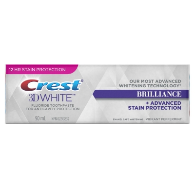 Crest Brilliance dentifricio 90ml.